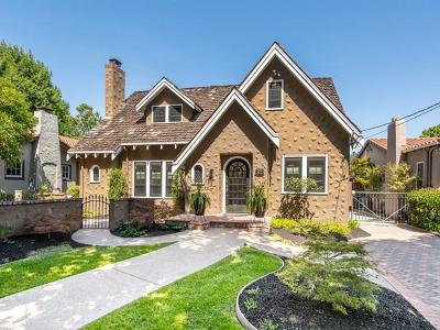 SAN JOSE Single Family Home For Sale: 989 Michigan Ave