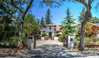 LOS GATOS Single Family Home For Sale: 16699 Kennedy Rd