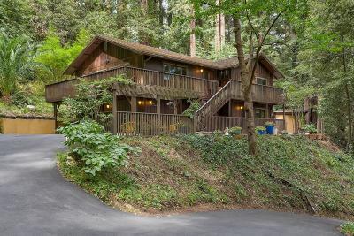 LOS GATOS Single Family Home For Sale: 26800 Soquel San Jose Rd