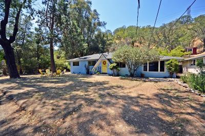 Single Family Home Contingent: 21571 Almaden Rd