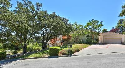 LOS GATOS Single Family Home For Sale: 470 Santa Rosa Dr