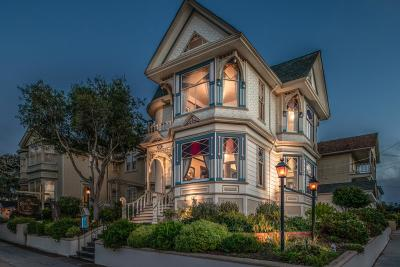 Pacific Grove Single Family Home For Sale: 649 Lighthouse Ave