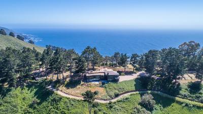 Big Sur Single Family Home For Sale: 36296 Weston Ridge Rd