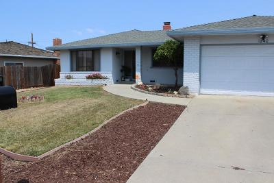 HOLLISTER Single Family Home For Sale: 1240 Mesa Dr