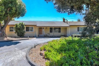 GILROY Single Family Home For Sale: 10735 Guibal Ave