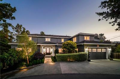 BURLINGAME Single Family Home For Sale: 108 La Loma Ln