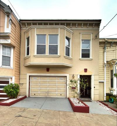 SAN FRANCISCO Single Family Home For Sale: 320 Excelsior Ave