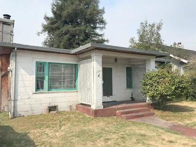 Santa Cruz Single Family Home For Sale: 1323 Laurel St