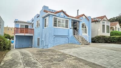 SAN FRANCISCO Single Family Home For Sale: 2933 19th Ave
