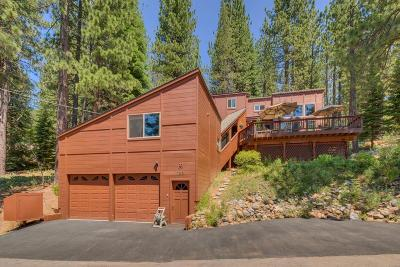 TAHOE CITY CA Single Family Home For Sale: $1,100,000