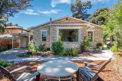 Carmel Single Family Home For Sale: 8250 El Camino Estrada