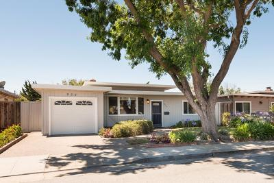 SAN MATEO Single Family Home For Sale: 956 Patricia Ave