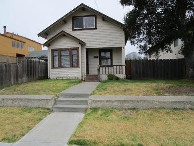 Monterey Single Family Home For Sale: 272 Clay St