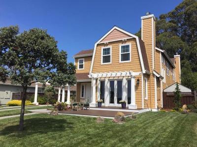 HALF MOON BAY Single Family Home For Sale: 431 Seymour St
