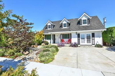 Sunnyvale Single Family Home For Sale: 734 San Simeon St