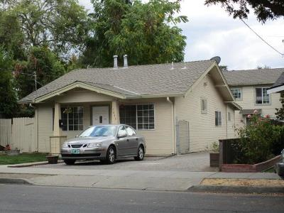 MOUNTAIN VIEW Multi Family Home For Sale: 1643 Villa St