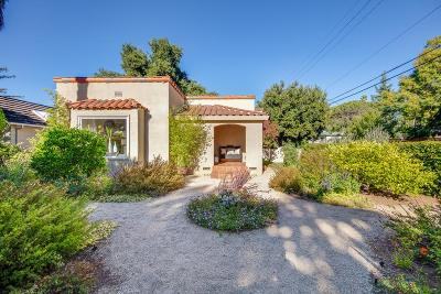 Los Altos Single Family Home For Sale: 595 Orange Ave