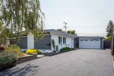 MOUNTAIN VIEW Single Family Home For Sale: 1731 Spring St