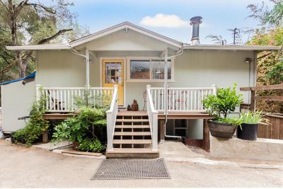 Boulder Creek Single Family Home For Sale: 398 Juanita Rd