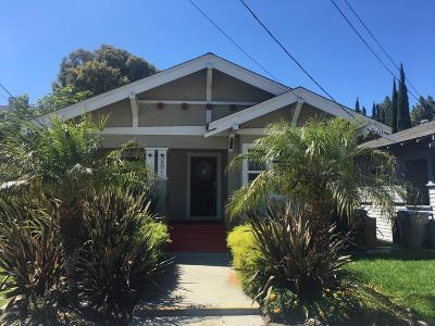 SAN JOSE Single Family Home For Sale: 281 N 10th St