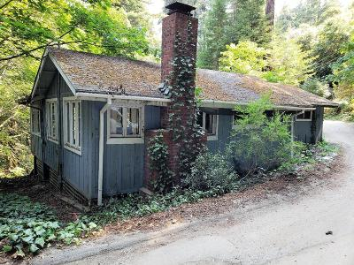 Aptos, Soquel Single Family Home Contingent: 240 Hayward Rd