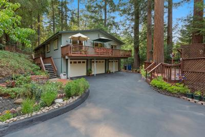 Scotts Valley Single Family Home For Sale: 115 Redwood Pl