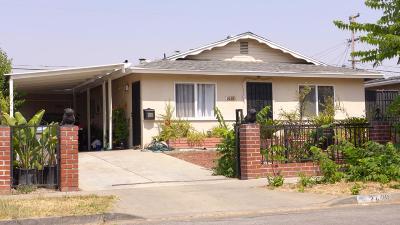 SAN JOSE Single Family Home For Sale: 2638 Othello Ave