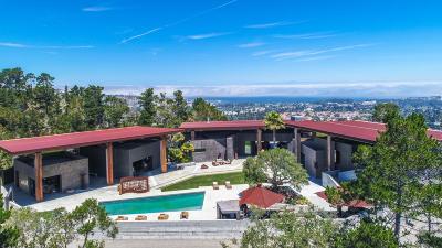 Monterey County Single Family Home For Sale: 566 Aguajito Rd