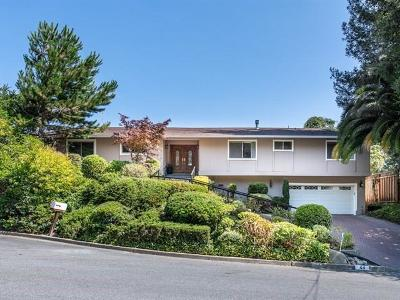 MENLO PARK Single Family Home For Sale: 44 La Loma Dr