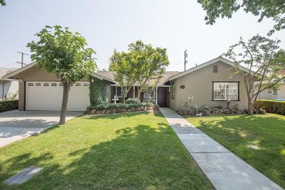 Santa Clara Single Family Home For Sale: 2344 Arguello Pl