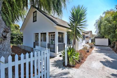Santa Cruz County Single Family Home For Sale: 40 Center St