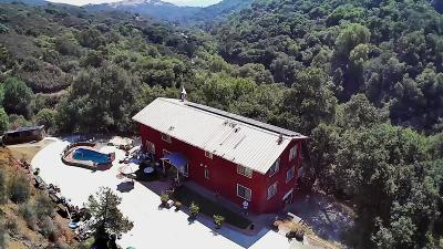 MORGAN HILL Single Family Home For Sale: 6377 Little Uvas Rd