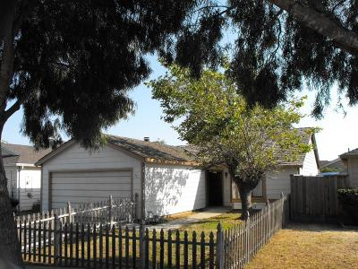 SALINAS Single Family Home For Sale: 52 Christensen Ave