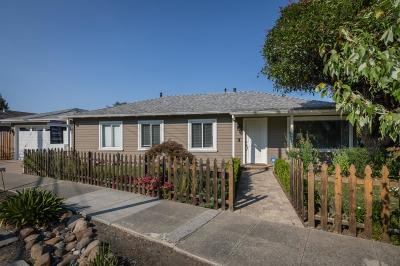 REDWOOD CITY Single Family Home For Sale: 1377 Valota Rd