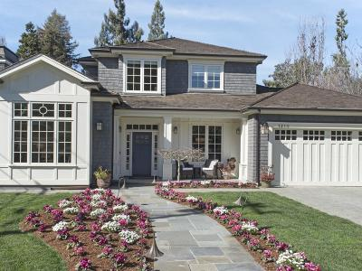 Menlo Park Single Family Home For Sale: 1210 Bay Laurel Dr
