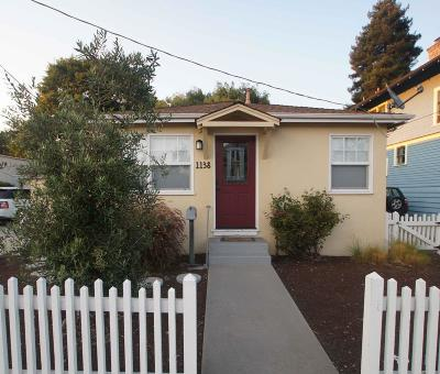 SANTA CRUZ Single Family Home For Sale: 1138 Laurel St