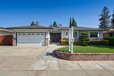 Santa Clara Single Family Home For Sale: Cabrillo Ave