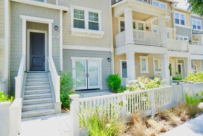 Mountain View Townhouse For Sale: 841 Sierra Vista Ave