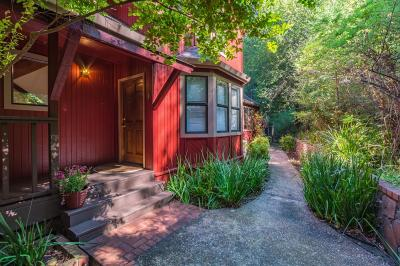 LOS GATOS Single Family Home For Sale: 16216 Long Branch Rd