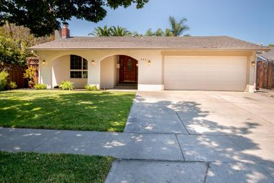 SAN JOSE Single Family Home For Sale: 423 Curie Dr