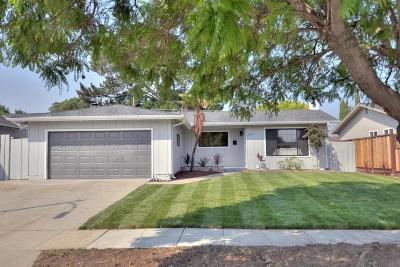 SAN JOSE Single Family Home For Sale: 3959 Paladin Dr