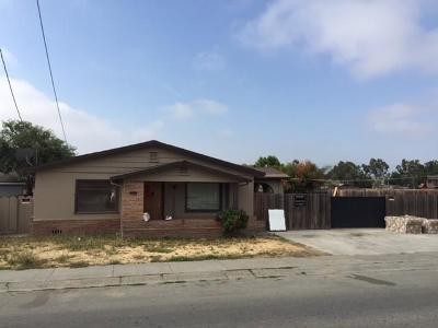 HOLLISTER CA Single Family Home For Sale: $1,600,000
