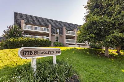 MENLO PARK Condo For Sale: 675 Sharon Park Dr 134