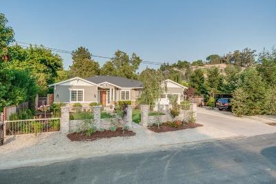 LOS GATOS Single Family Home For Sale: 16010 Stephenie Ln