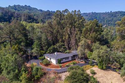 SARATOGA Single Family Home For Sale: 15461 Madrone Hill Rd