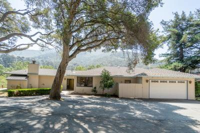Carmel Valley Single Family Home For Sale: 800 W Carmel Valley Rd