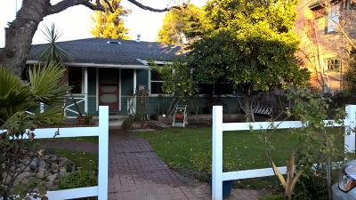 Palo Alto Single Family Home For Sale: 4137 Abel Ave