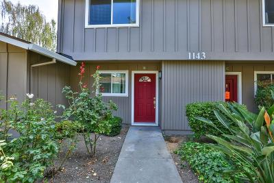 SUNNYVALE Townhouse For Sale: 1143 Reed Ave B