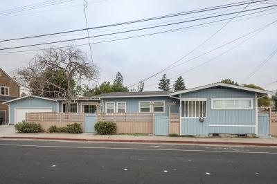 Redwood City Single Family Home For Sale: 1825 Middlefield Rd