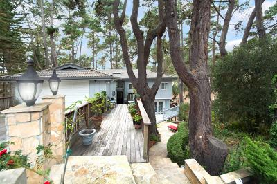 Pebble Beach Single Family Home For Sale: 4196 Sunridge Rd